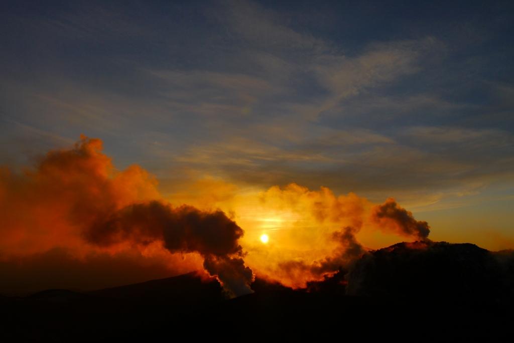 11月24日、樽前山の夕陽-その2-_f0138096_11344940.jpg