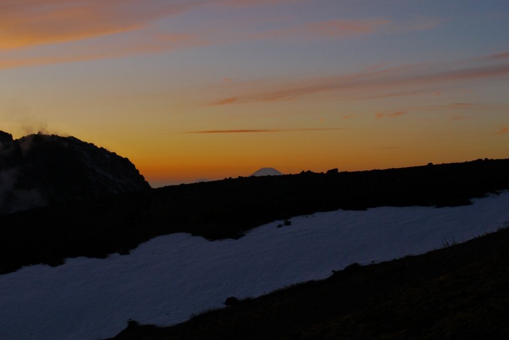 11月24日、樽前山の夕陽-その2-_f0138096_11355833.jpg