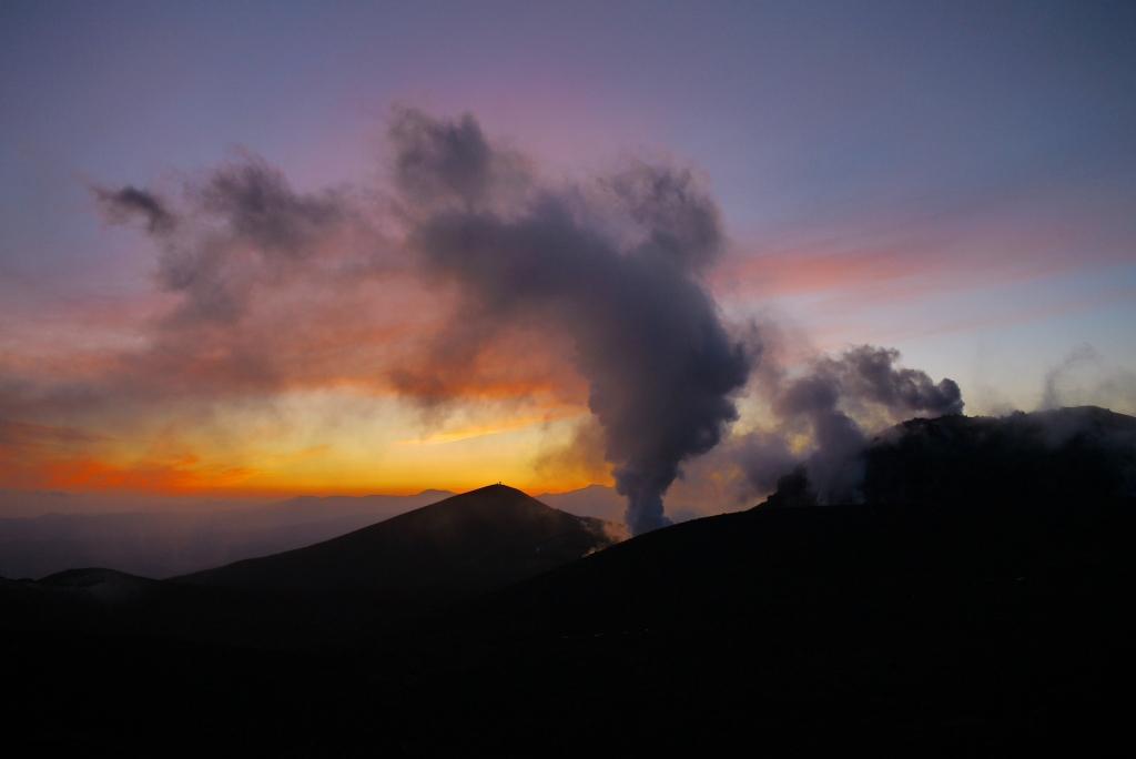 11月24日、樽前山の夕陽-その2-_f0138096_11361861.jpg