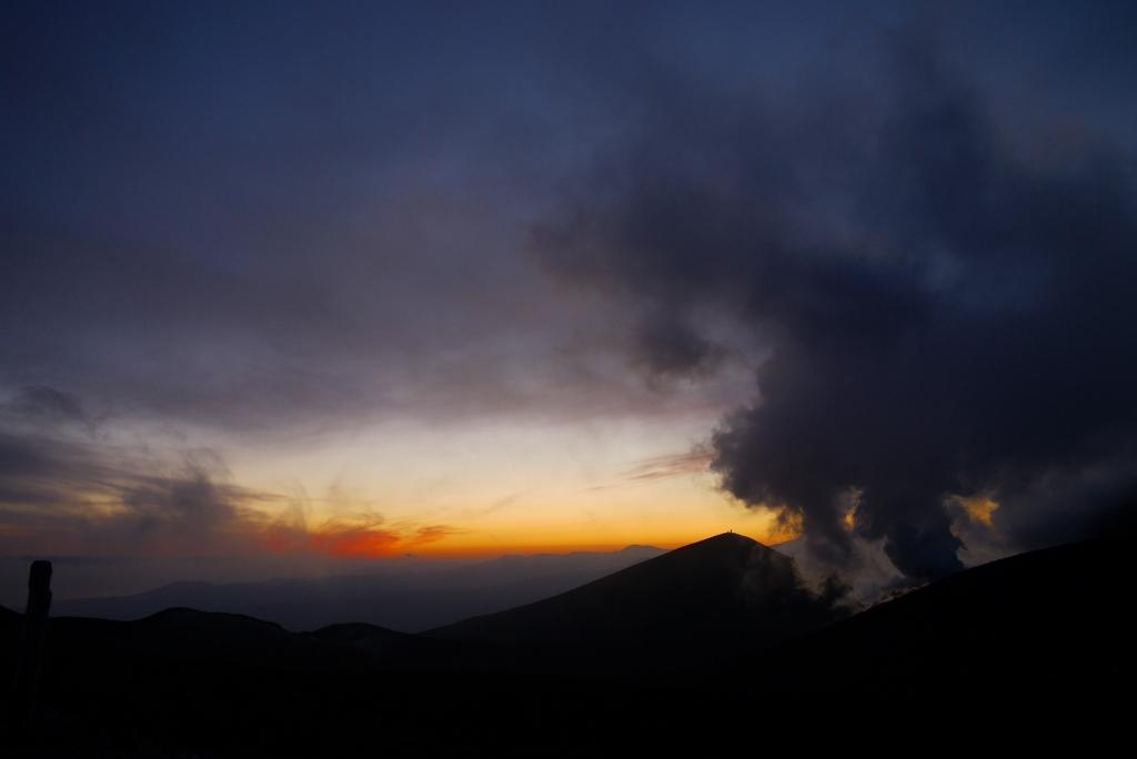 11月24日、樽前山の夕陽-その2-_f0138096_11363828.jpg
