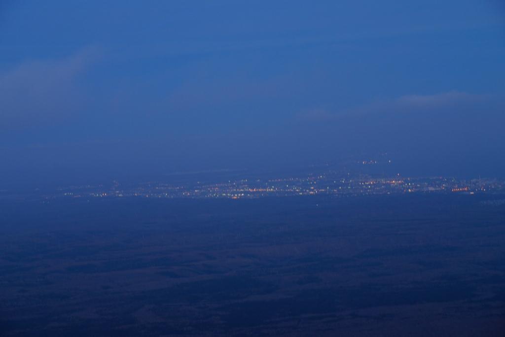 11月24日、樽前山の夕陽-その2-_f0138096_1136567.jpg