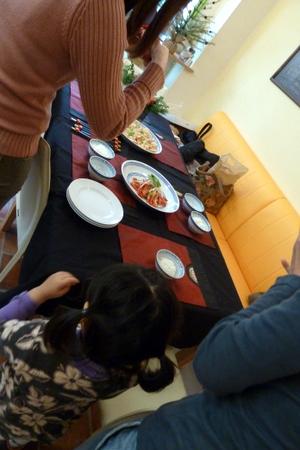 料理教室・・・おこげなど_f0141419_646459.jpg