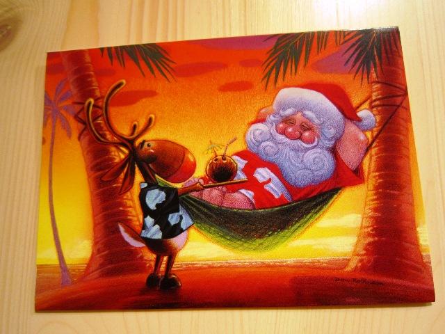 ハワイバージョンのクリスマスカード_f0191324_2343896.jpg