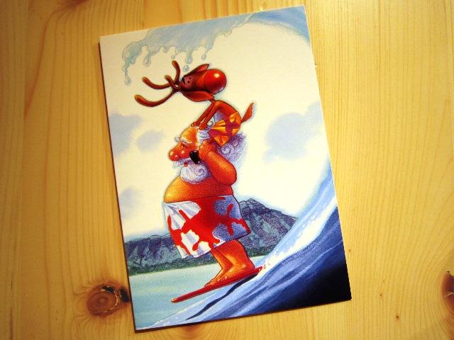ハワイバージョンのクリスマスカード_f0191324_2354394.jpg