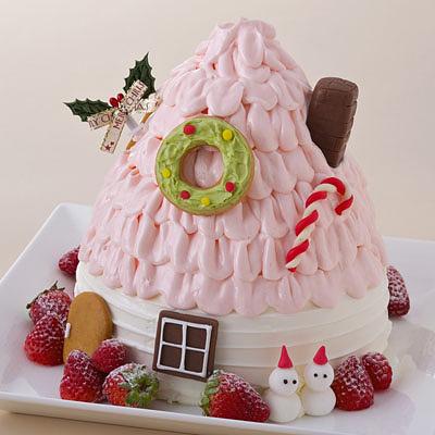 今年のクリスマスケーキは?_b0102247_15315739.jpg