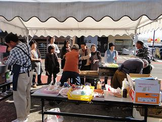 びしゃもん市感謝の「小さなお祭り」_b0092684_782463.jpg