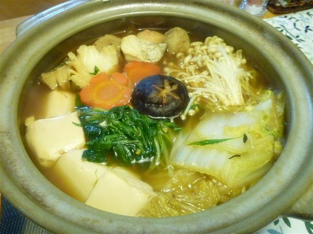 時には違う味の鍋にしましょう♪d(´▽`)b♪_b0175688_21473222.jpg