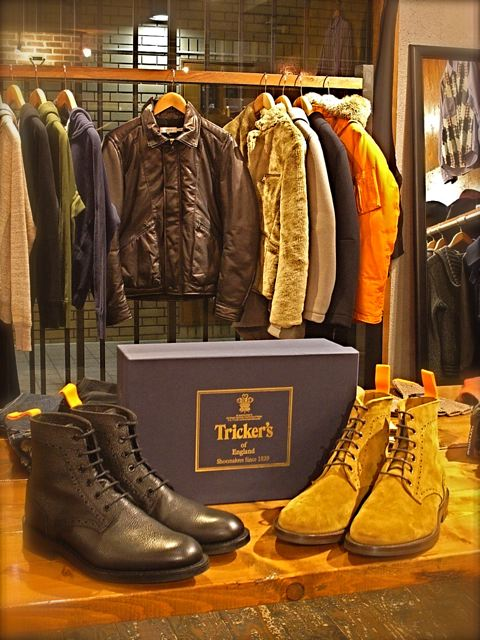 "Tricker\'s for nonnative ""M7246\"" DARBY BOOTS !_c0079892_2210420.jpg"