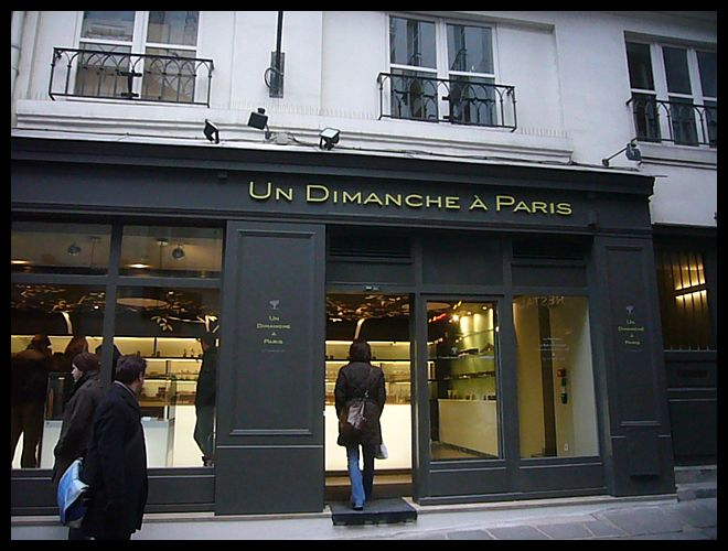 【新規OPEN】UN DIMANCHE A PARIS(CHOCOLAT)PARIS_a0014299_1956552.jpg