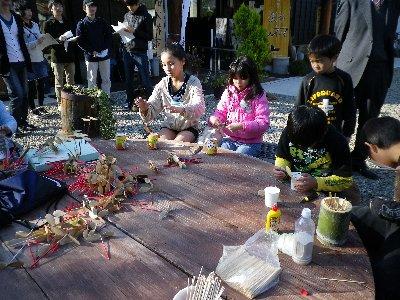 「子ども大学ふかや」最終日で 竹とんぼ_c0155211_156473.jpg