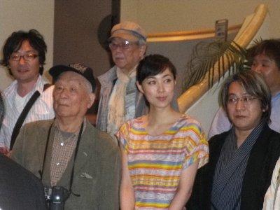 映画「ゲゲゲの女房」鈴木卓爾監督と_c0155211_16354938.jpg