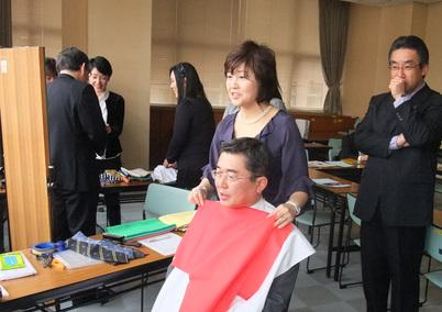 ビジネスマンのためのパーソナルカラーセミナーを開催しました☆_d0116430_3172549.jpg