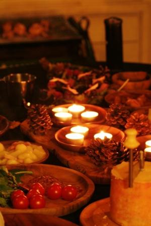秋のパーティー 5・料理はより簡単に_b0048834_19481354.jpg