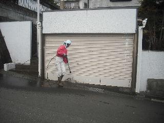 窓と高圧洗浄作業_f0031037_18531590.jpg