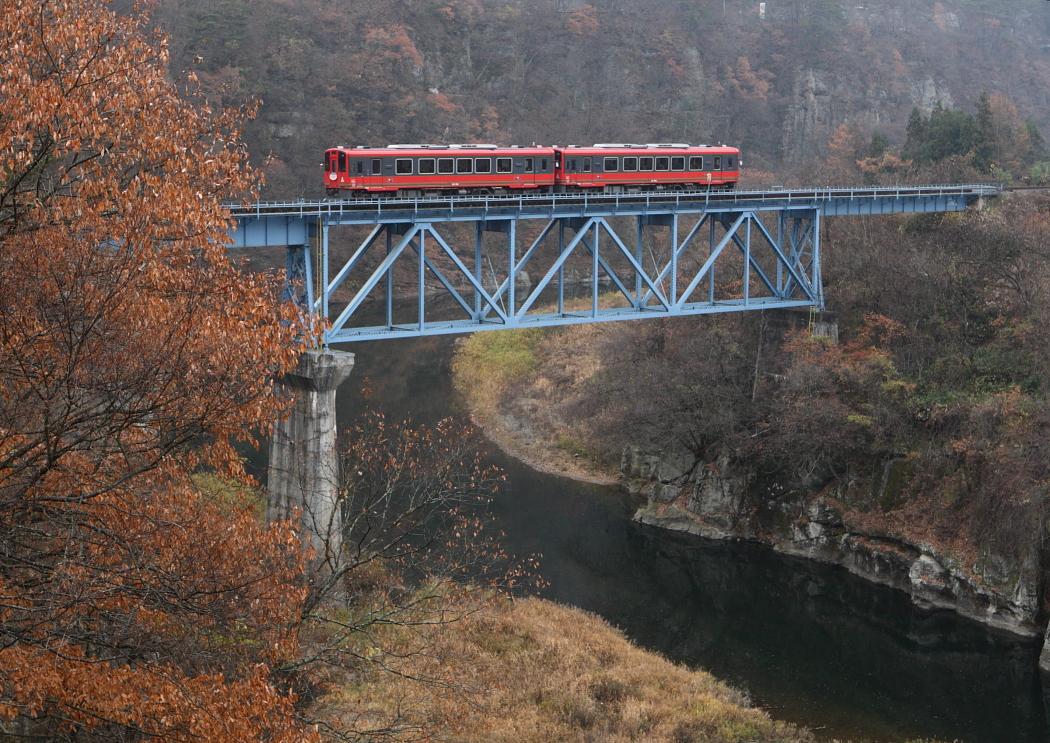 会津鉄道 下郷町付近 2010年11月28日 撮影_e0143883_211376.jpg