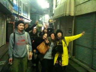 新宿navi cafeの夜_c0174484_1665940.jpg