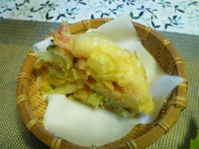 暖かな日曜日、夕飯は麺とミニ丼(*^^)v_b0175688_2035011.jpg