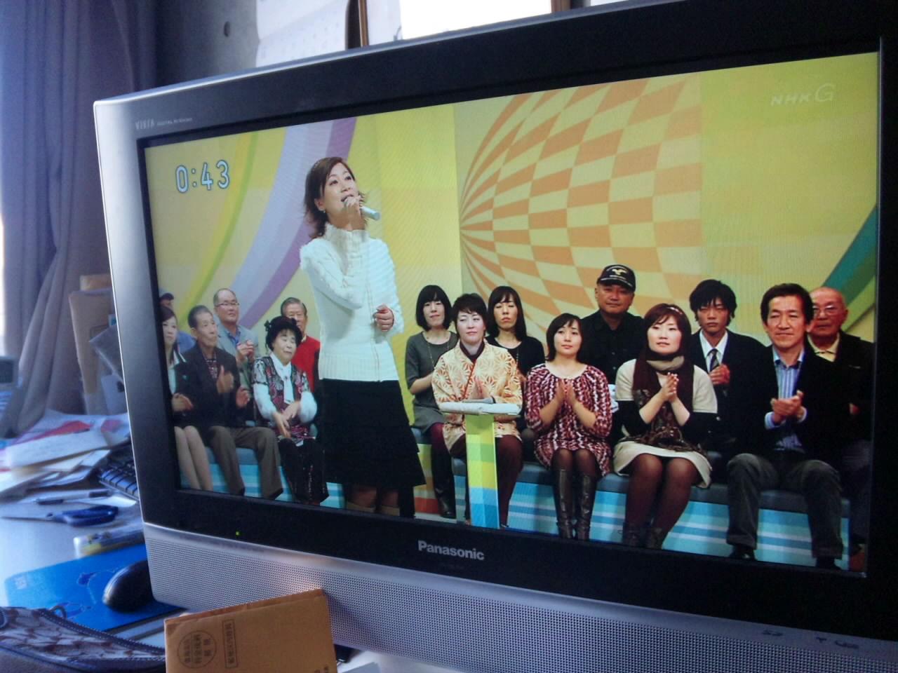 在日中国人女性 NHKののど自慢に出場_d0027795_12435645.jpg