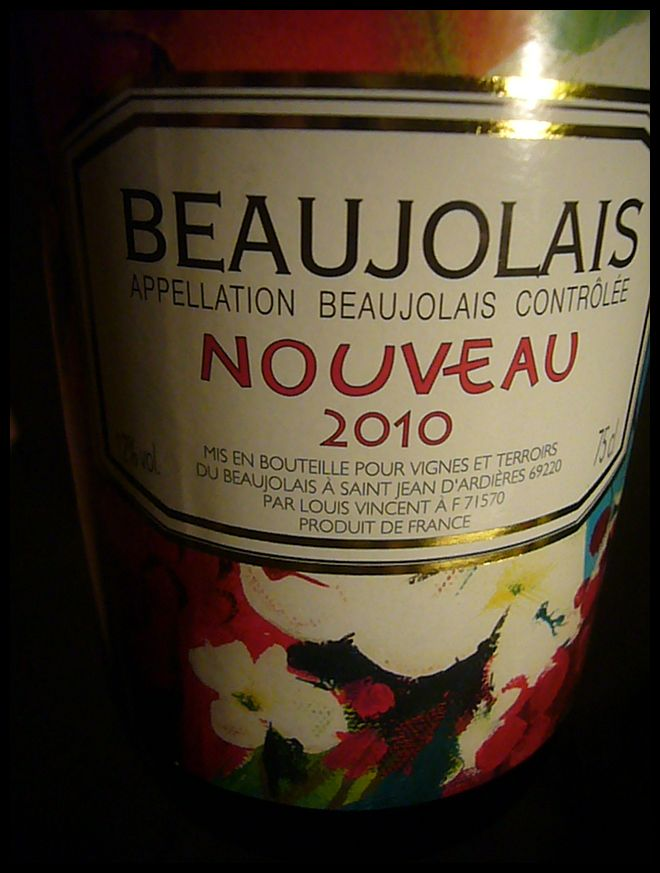 【ワイン】Beaujolais Nouveau 2010 (PARIS)-2-_a0014299_1952684.jpg