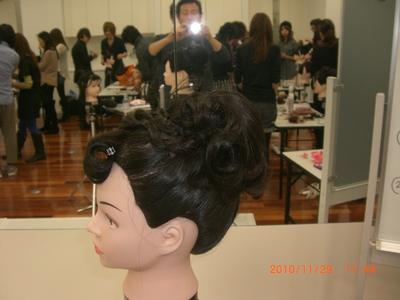 まとめ髪セミナー_e0150006_16152669.jpg