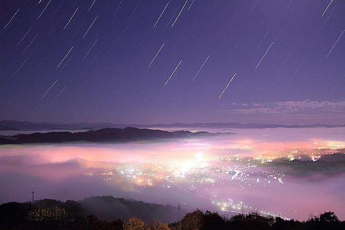 """三次高谷山 """"雲 海"""" コンポジ編_a0140608_10324847.jpg"""