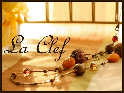 La Clef  ビーズ教室_e0160528_2117878.jpg