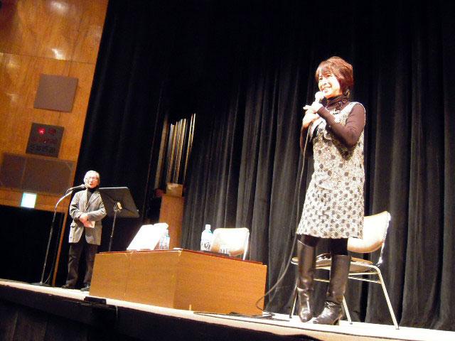 続いて高橋源一郎さんの登場~第一部、阿川佐和子さんと高橋源一郎さんによる... 天野祐吉の作業室