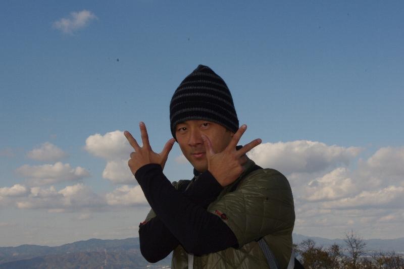 生駒山系縦走~_c0113733_23335071.jpg