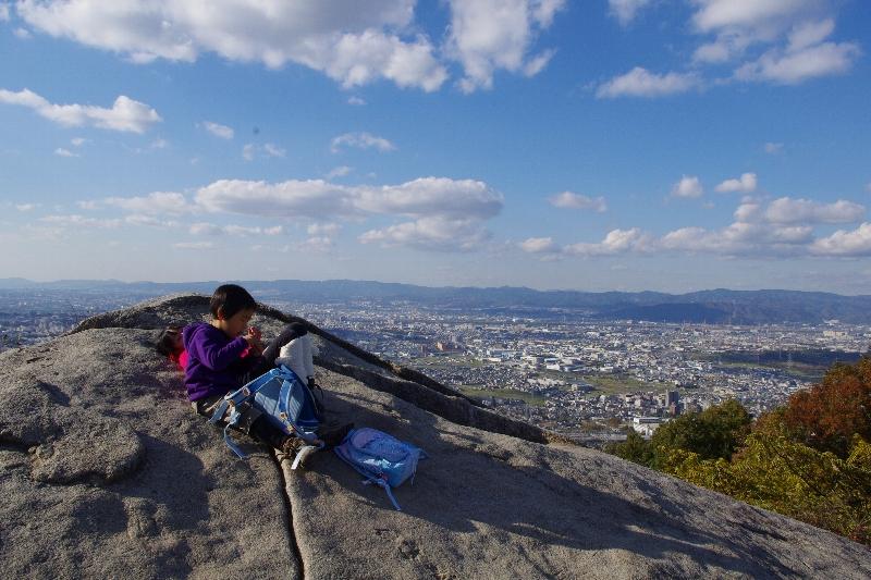 生駒山系縦走~_c0113733_23344578.jpg