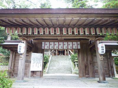高倉神社(1)日本書紀そのままの古社・神功皇后の船を止める男女の二神_c0222861_2218158.jpg