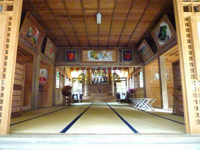 高倉神社(1)日本書紀そのままの古社・神功皇后の船を止める男女の二神_c0222861_2220744.jpg
