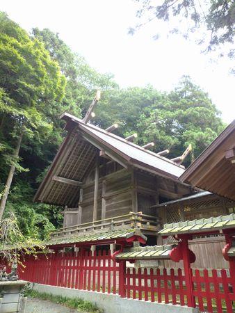 高倉神社(1)日本書紀そのままの古社・神功皇后の船を止める男女の二神_c0222861_22241792.jpg