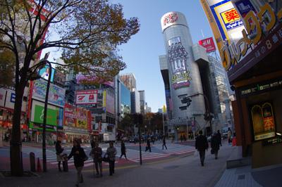 11月29日(月)今日の渋谷109前交差点_b0056983_1034634.jpg