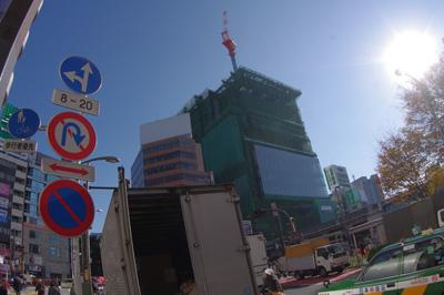 11月29日(月)今日の渋谷109前交差点_b0056983_1038156.jpg