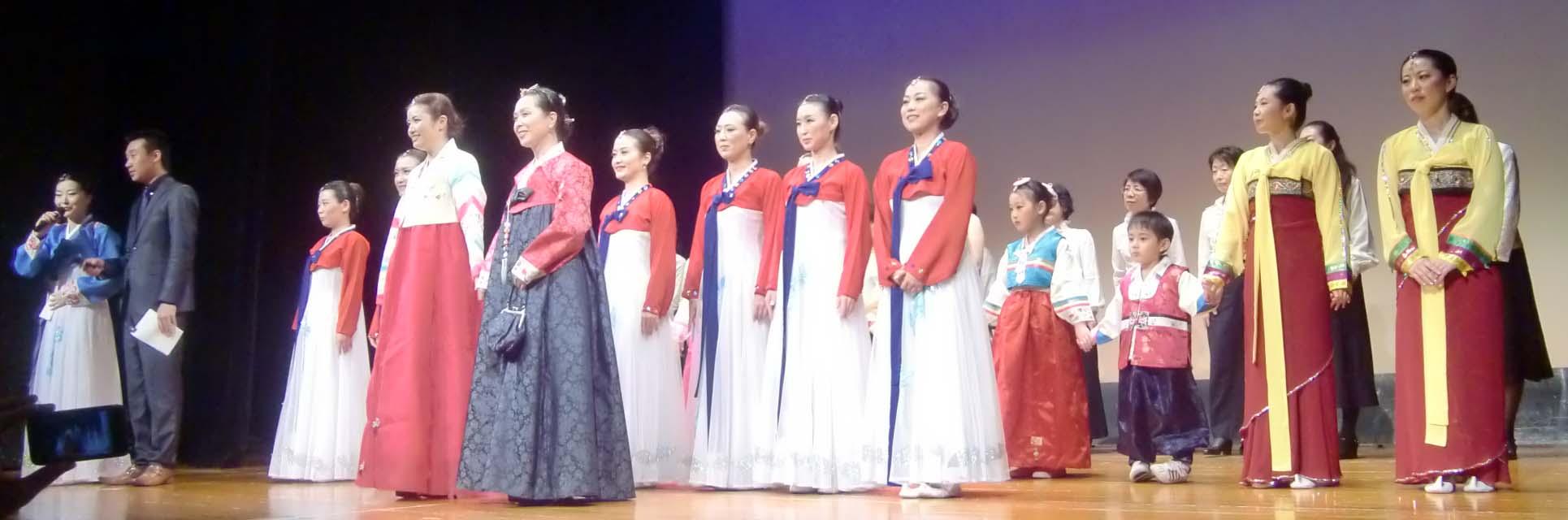 在日朝鮮族女性会創立3周年記念公演_d0007589_21374660.jpg