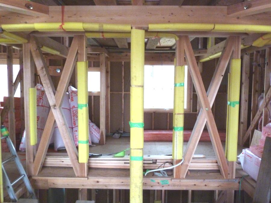 S邸「大沢新道の家」  工事中です。_f0150893_1837258.jpg
