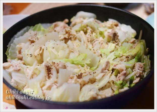 白菜ともやしの豚バラ蒸し_f0179404_21545326.jpg