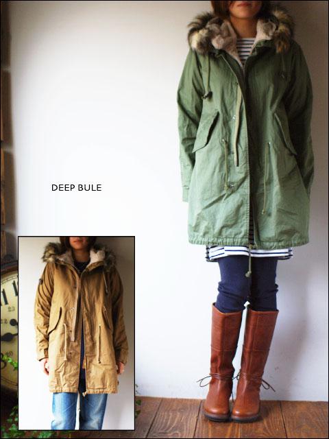Deep Blue [ディープブルー] モッズコート[ライナー付き] 73523 LADY\'S_f0051306_1930210.jpg