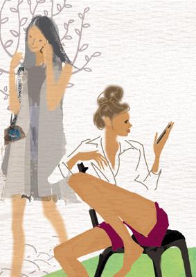 週末の約束♪〜書籍『iPhone女子よくばり活用術』より_f0172313_16303828.jpg