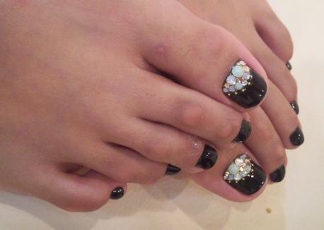 footネイル☆_c0071924_22145564.jpg
