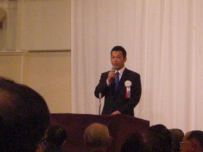 「大阪市会議員かくたに庄一」君を励ます会_a0137049_946551.jpg