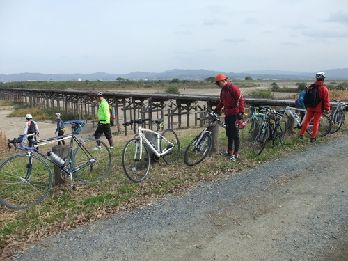 秋のサイクリング~八幡市・流れ橋 往復75km~_d0174462_122647.jpg