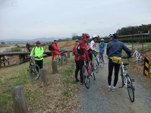 秋のサイクリング~八幡市・流れ橋 往復75km~_d0174462_131210.jpg
