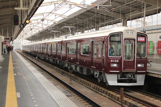阪急9002F 新造車両・試運転_d0202264_15275745.jpg