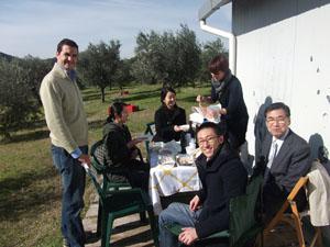 2010年「オリーブオイル買い付けの旅」オリーブ農家訪問トスカーナ編②_d0170094_734542.jpg