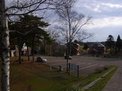 トラピスト修道院駐車場