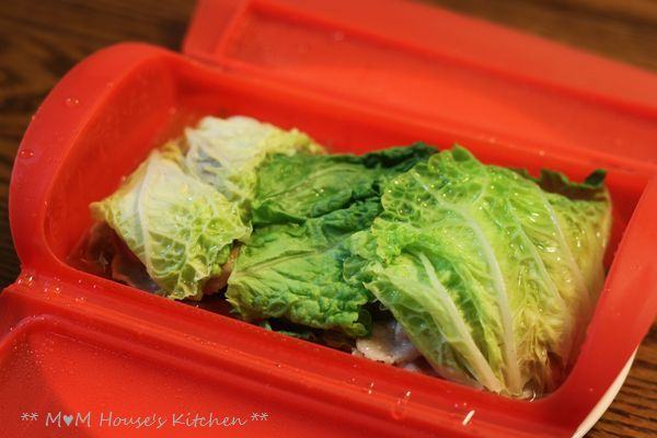 エバラ×ルクエで 白菜と豆腐の重ね蒸し♪_c0139375_1525442.jpg