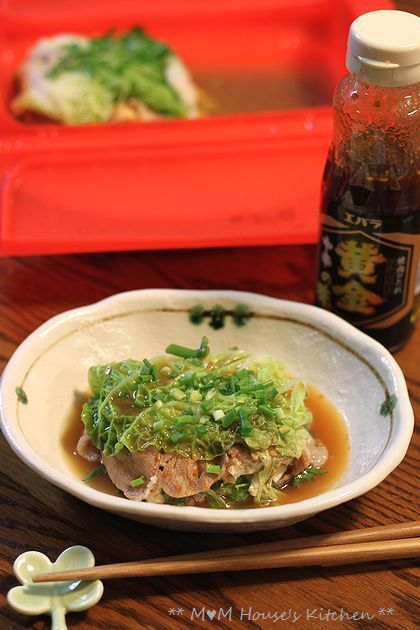 エバラ×ルクエで 白菜と豆腐の重ね蒸し♪_c0139375_152673.jpg