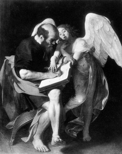 絶妙なバランス~カラヴァッジョ作「聖マタイと天使」_f0106597_2313819.jpg