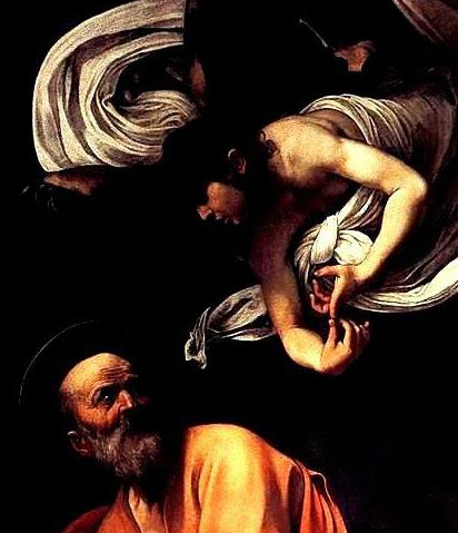 絶妙なバランス~カラヴァッジョ作「聖マタイと天使」_f0106597_2314223.jpg